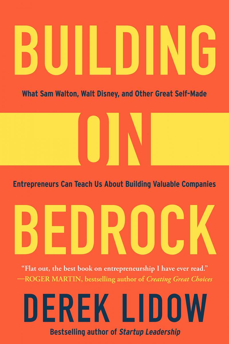Building on Bedrock book cover