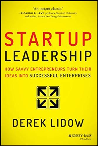 Startup Leadership book cover